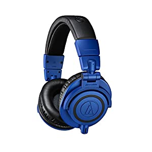 Audio-Technica ATH-M50xBB Special Edition Blue and Black Professional Monitor headphones