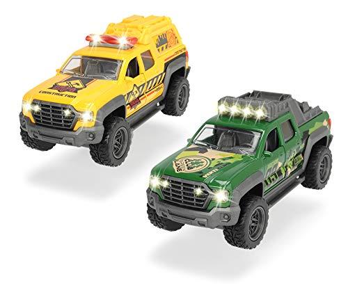 Dickie Toys 203752007 Pick Up Truck Metallauto mit Rückzugmotor