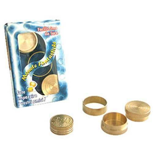 Solomagia monete fantastiche - 50 centesimi di euro - magia con monete - giochi di magia e prestigio