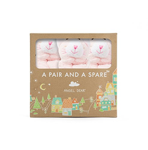 Angel Dear Pair and a Spare 3 Piece Baby Blankie Set