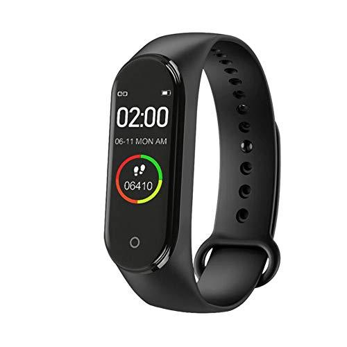 Imagen de ankunlunbai  pulsera de vigilancia para teléfono, control remoto, llamadas, banda deportiva, frecuencia cardíaca, fitness, reloj impermeable, negro