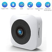 teepao Mini Wifi Cámara oculta 720P cámara oculta grabación con Altas establecimiento Tiempo real Motion Reconocer