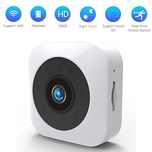 DS-Mart WIFI HD Mini Kamera, tragbare Sportkamera mit IR Nachtsicht und Bewegungserkennung f¨¹r Home Office Security Surveillance