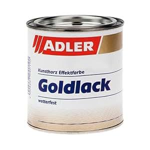 goldlack 125ml gold lack f r holz metall innen und au en. Black Bedroom Furniture Sets. Home Design Ideas