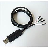 Avec ce câble, vous pourrez établir communication série entre un ordinateur et une carte électronique munie d'interface série UART.Les cartes électroniques de ce style sont par exemple le Raspberry Pi, la BeagleBoard Black, la Cubieboard...Reliez les...