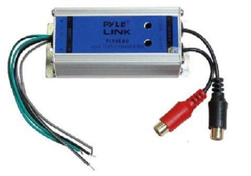 Pyle Auto (Pyle plvhl602-Kanal Lautsprecher optischen Level zu RCA Line-Konverter)