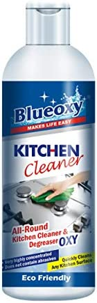 BlueOxy Super Concentrated Kitchen Cleaner & Degreaser - 500 ml | Grease Cleaner & Degreaser Stain Rem