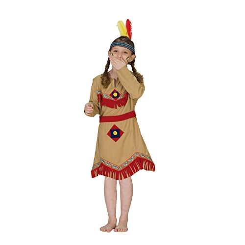 Indianer Kostüm Navajo Girl Mädchen Kleid Kinderkostüm Indianerin Indianerkleid Indianerinkostüm (Kostüme Navajos Indianer)