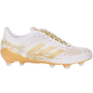 adidas Performance Mens Predator Malice Control FG Rugby Boots - 9.5 White