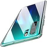 Zinuu Huawei P30 Pro Hülle Anti-Fleck Weiches TPU Kratzfest Dünn TPU Schutzhülle Crystal Clear Kameraschutz Slim Durchsichtig Hülle für Huawei P30 Pro (P30 Pro, Transparent)