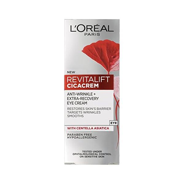 L 'Oréal Paris Revitalift cica–recuperación antiarrugas crema de ojos, 15ml