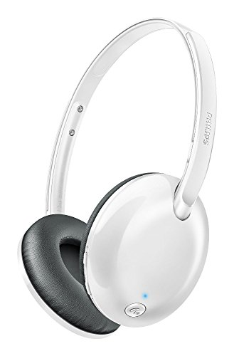 Philips SHB4405WT/00 Bluetooth Headphones (White)