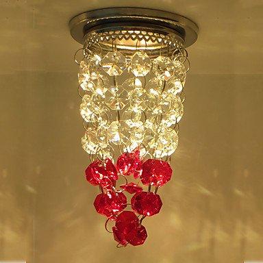 Luces de Techo Cristal / LED / Mini Estilo 1 pieza , red