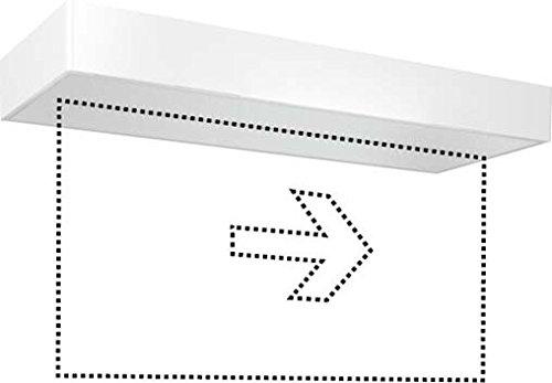 ESYLUX LED-Notleuchte ws 3h, f.AP-/Deck SLX24LEDi EN10077371
