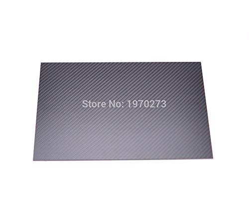 3k Carbon-Faser-Platte-Panel 0,5 mm 1 mm 1,5 mm Carbon-Brett Plain Twill-Webart-Carbon-Brett 3k 2 mm 3 mm Plain Twill-Webart Glanz Matt Oberfläche Carbon-Pappblatt Regard L -