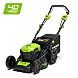 Greenworks 2506807 40V 46cm Mower Self Propelled Green