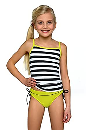 Girls Kids Bikini Tankini Swimsuit Swimwear Beachwear 7 13