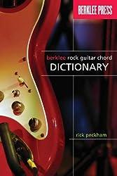 Berklee Press Berklee Rock Guitar Chord Dictionary Book
