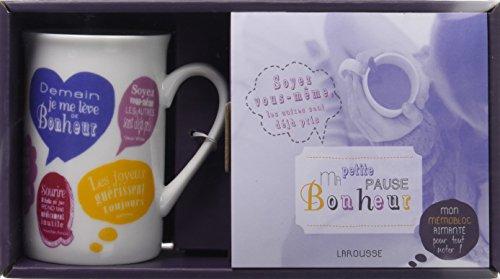 Ma petite pause bonheur : Avec un mug original et un mmobloc aimant