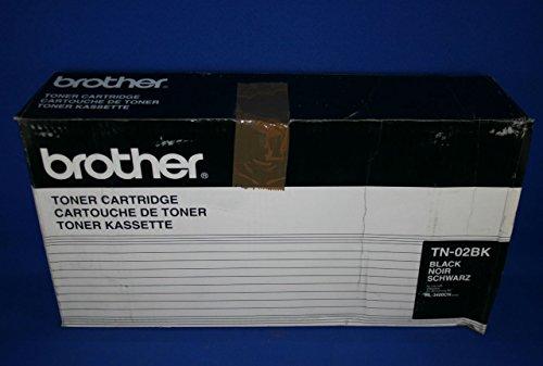 Preisvergleich Produktbild Brother TN-02BK Tonerpatrone (14.000 Seiten) schwarz