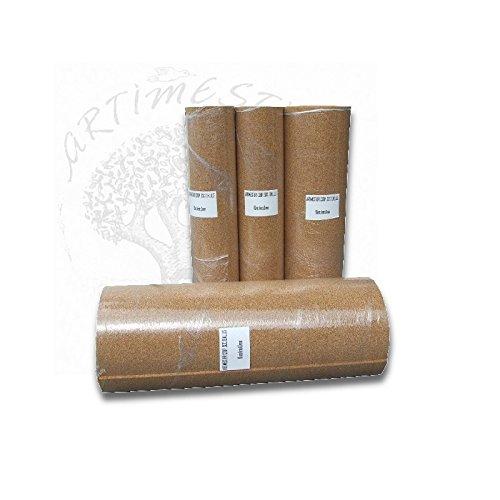 Artimestieri - sughero supercompresso in rotolo spessore 2-3-6-10 mm -confezione 10 mq -anticalpestio anticondensa isolante termico - 6 mm
