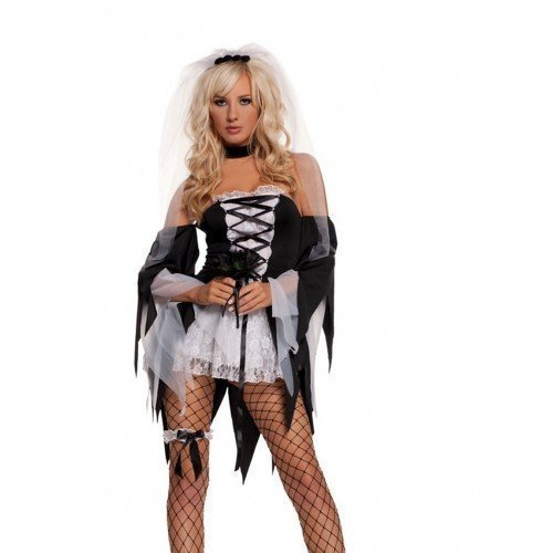 Ghost Dead-Bride Scheidung Party, Halloween-Kostüm, Gr. 36 ()