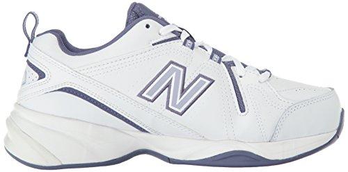 New Balance  608v4 Comfort Pack Training Shoe, Damen Laufschuhe mehrfarbig Parent weiß / violett