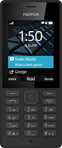 Nokia 150 Telefono Cellulare, Memoria Interna da 16 MB, Nero [Italia]