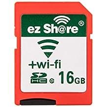 ezshare clase 10tarjeta SD de 16GB con adaptador y 90días EZ compartir Servicio en la nube