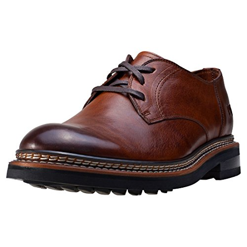 chaussures habillées Hyde P720350 cuir de CAT Caterpillar Men Rust Brown Rust