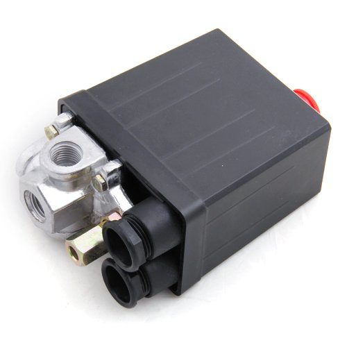 STK e-Shop - Interruttore valvola di controllo compressore aria 90-120 PSI 240V