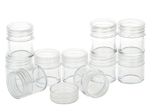 topwel-10pcs-10-gram-new-empty-clear-plastic-screw-cap-lid-with-clear-base-empty-plastic-container-j