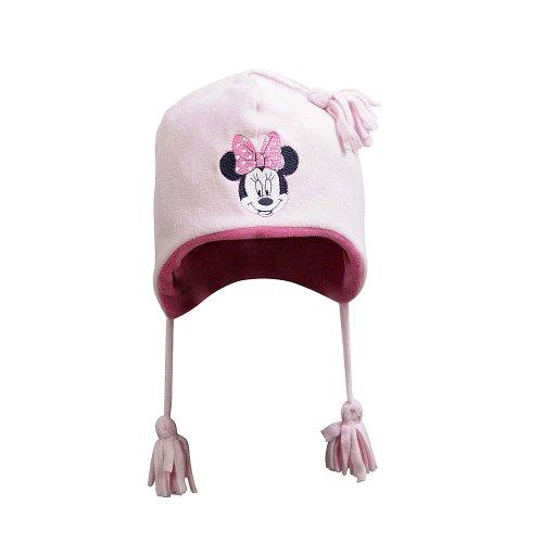 Disney Baby - Mädchen Mützchen 71303, Gr. 49, Rosa (832 Pink (Minnie Disney Mütze)