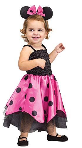 Fancy Me Baby Kleinkind Mädchen minnie mouse Tier Halloween Kostüm Kleid Outfit 12-24 ()