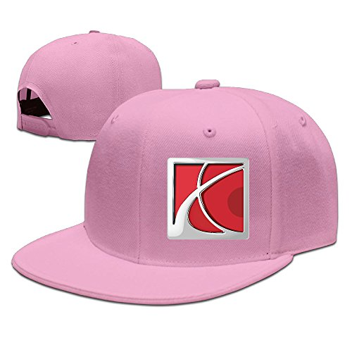 t-ukco-saturn-logo-unisex-fashion-adjustable-baseball-cap-hat-pink