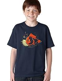 Crazy Dog TShirts - Youth Night Light Fish T Shirt Cute Ocean Under The Sea Shirt For Kids - Camiseta Para Niños