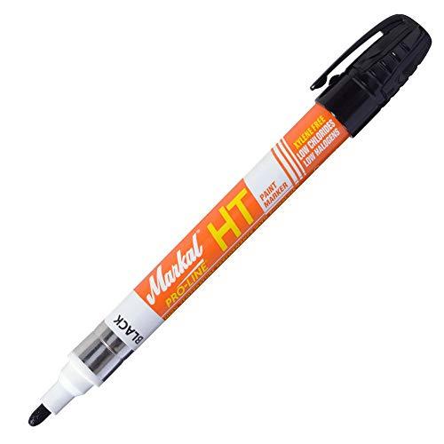 Pro Line Single Tool (Markal Pro-Line HT High Temp Farbmarker für hochtemperaturbeständige Markierung, schwarz)
