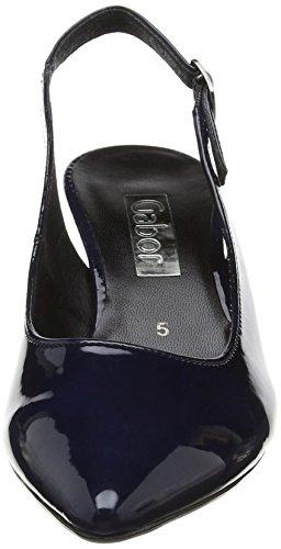 Gabor Fashion, Escarpins Femme Bleu (marine 76)