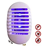 Volwco Elektrisch insektenvernichter Mit UV-Licht, Socket Typ Moskito Fliegenfalle Insektenlampe Indoor Bug Pest Zapper, Plug in Innen Mückenlampe für das Haus Garten Terrasse Büro Geschäft