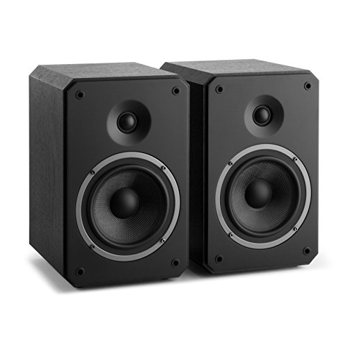 NUMAN Octavox 702 MKII • Regal-Lautsprecher • Lautsprecher-Boxen • HiFi-Boxen • high-end Boxen • 2-Wege-Lautsprechersystem • 100 Watt max. • Bassreflex • abnehmbare Lautsprecherabdeckung • schwarz