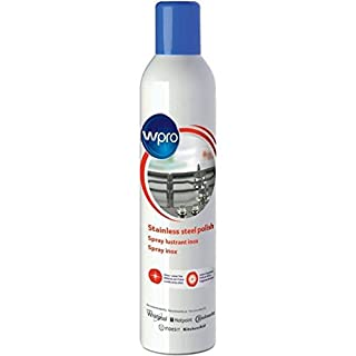 Wpro Stainless Steel and Glass Polish Cleaning Spray 400ml Lemon Fragrance