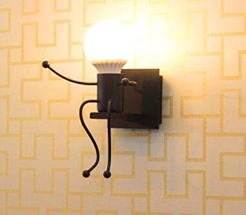 E27 Lampe Murale Applique Murale Couloir de la lampe Miroir lampe luminaire Couloir de la lampe pour Couloir Toilettes la chambre à coucher Loft Chambre à coucher Office Home Décoration lumineuse Transparent