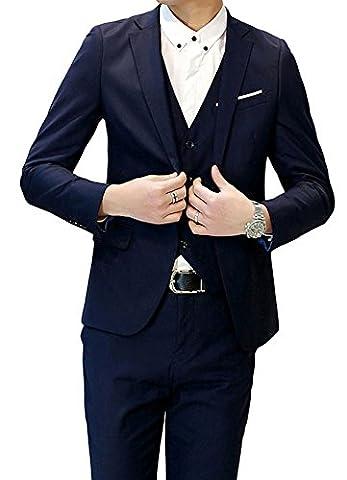 Alsacien Costume - Costume homme Un Boutons Mode Slim fit