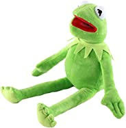 GOOSEN78 Kermit The Frog Plush Doll, The Muppets Movie Soft Stuffed Plush Toy, 16 inches (Green)