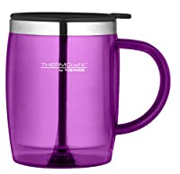ThermoCafé Plastic and Stainless Steel Desk/Travel Mug, 450 ml