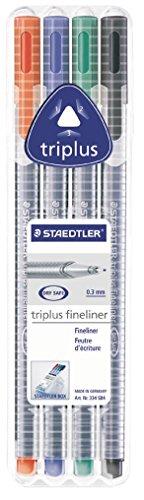 Staedtler 334 SB4 Penna Fineliner da 0.3 mm