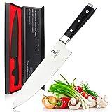 coltelli da Cucina Koch coltelli, Professionale Chef Diametro 20 cm utilità Coltello taglierina Carne Lame in Acciaio Inox Cucina Lama di Taglio con Il Regalo