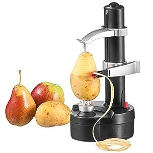 aoory Elektrischer Kartoffelschäler Apfelschäler Gemüseschäler Obstschäler Elektro Schäler für Obst Gemüse