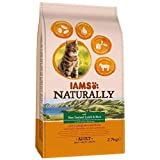 IAMS Naturally Adult Cat with New Zealand Lamb & Rice 2.7 kg