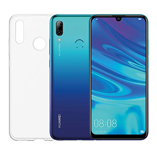 "Foto Huawei Psmart 2019 (Aurora Blu) più esclusiva cover trasparente, Telefono con 64 GB, Display 6.21"" Full HD+, Processore Octa Core dinamico con Intelligenza Artificiale [Versione Italiana]"